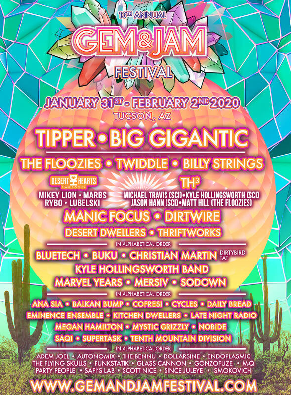 Desert Hearts Festival 2020.Amf Cool All Music Fests