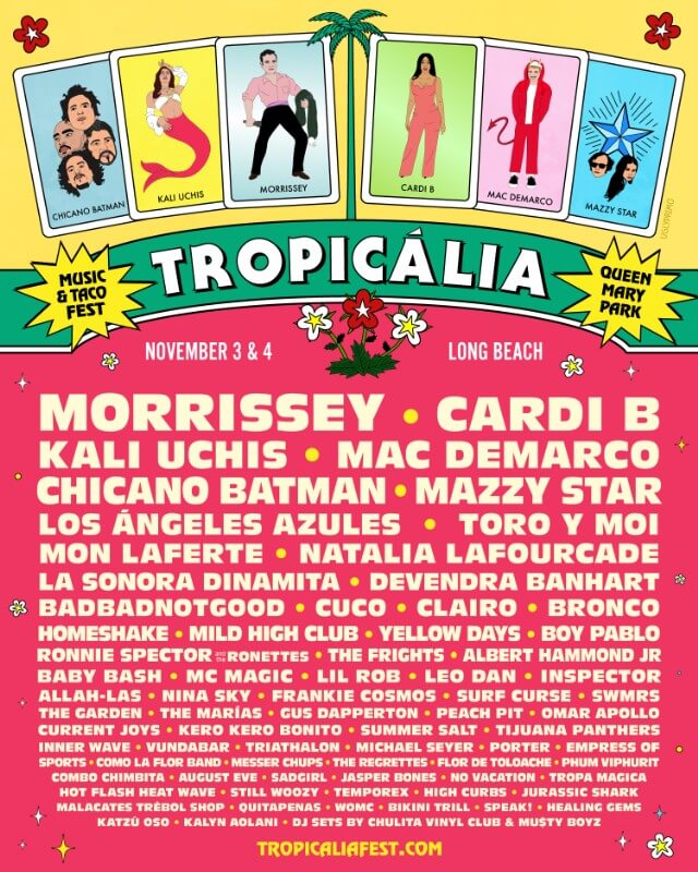 tropicalia music and taco fest 2018