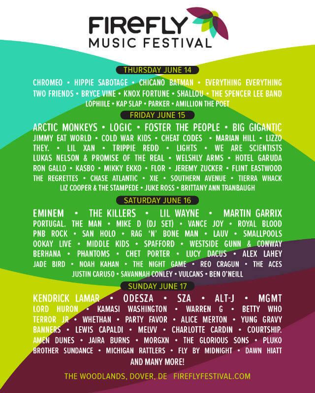 Firefly Festival 2018